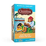 Celestial Seasonings Sleepytime Extra Herbal Wellness Tea, 20 Tea Bags per Box, 1 Box