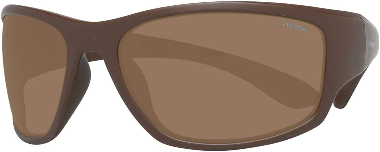 Polaroid PLD 7005/S IG K30 63 Gafas de Sol, Marrón (Dkbrwn Solid/Brown Pz), Hombre