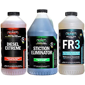 Hot Shots Secret TRIO Diesel Oil and Fuel Additive - 128 fl. oz.