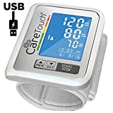 Care Touch Slim Blood Pressure Monitor for Wrist – USB Charge, Quick Reading