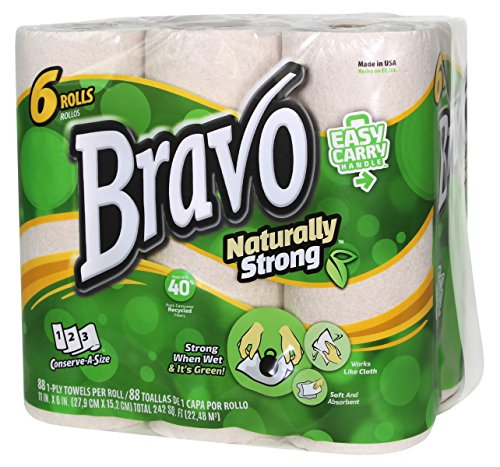 Naturally Strong Paper Towels, Natural (Pack of 24) (Duty 24 Pack Case)