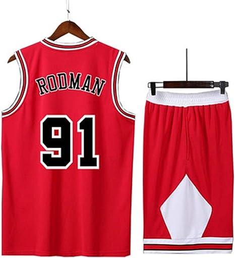 LYX-B Bulls Camiseta de Uniforme de Baloncesto Uniforme Masculino ...