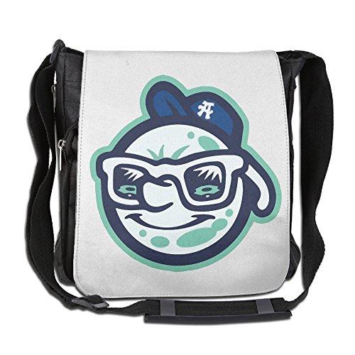 Price comparison product image Amurder Custom Baseball Team Asheville Tourists Cross Body Bag Pack Messenger Bags Black