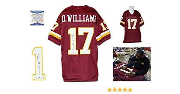 Doug Williams Autographed SIGNED Jersey - Beckett Authentic - Burgundy at  Amazon s Sports Collectibles Store 81039247d