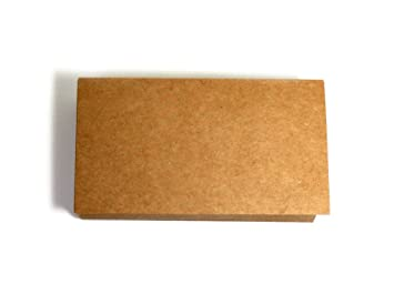 Amazon kraft paper business cards 100 paper k01 blank kraft paper business cards 100 paper k01 blank reheart Image collections