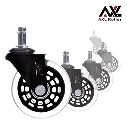 "2.5"" Rollerblade Wheels for Office Chair Casters Replacem..."