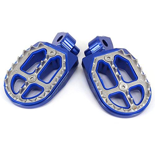 - JFG RACING Billet MX Foot Pegs Rests Pedals For Yamaha YZ85 02-17 YZ125 250 99-17 YZ250F 01-17 YZ426F 00-02 YZ450F 03-17 YZ250FX 15-17 YZ450FX 16-17 WR250F WR400F WR426F WR450F 99-17