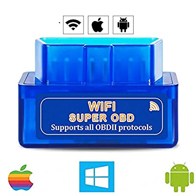 WiFi OBD2 Scanner for Android iOS(iPhone iPad), Launchh OBDII Auto Diagnostic Scan Tool, Car Diagnostic Scanner, Car Error Code Reader: Car Electronics