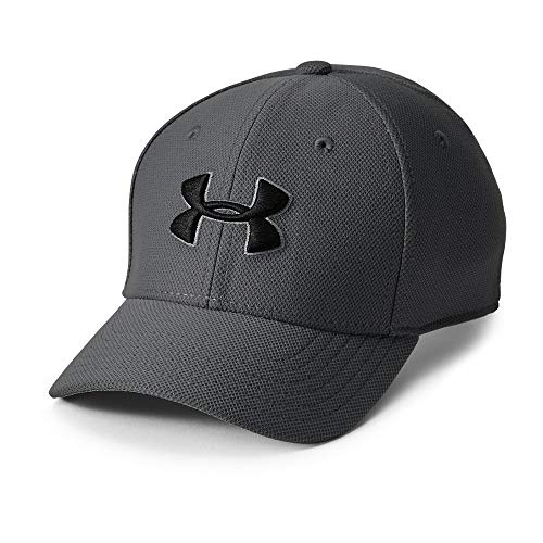 Under Armour Boy's Blitzing 3.0 Cap, Graphite (040)/Black, Youth Small/Medium