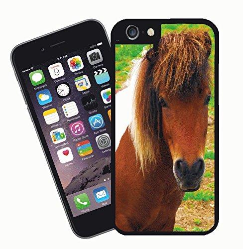 Disegno di cavallo 002 - questa copertura si adatta Apple modello iPhone 6s (6s non plus) - di idee regalo di Eclipse