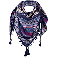 Sumen Clearance !Warm Bohemian Tassel Shawl For Women Girls Vintage Scarves Beach Bikini Cover Up