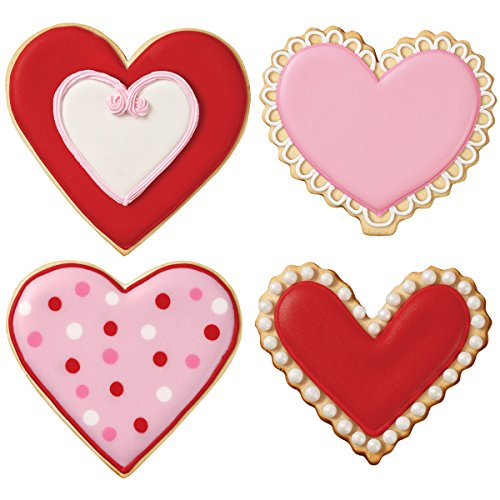 Wilton 2308-4441 Nesting Heart Cookie Cutters, Set of 4