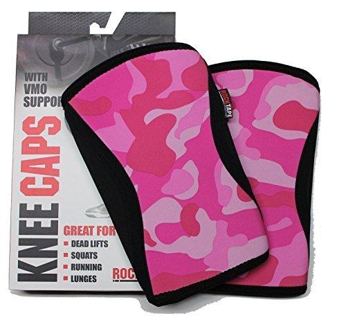Rocktape Knee Caps Pink Camo X-Small 7MM