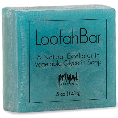 (Primal Elements Wrapped Handmade Vegetable Glycerin Loofah Soap 5oz. Mermaid)