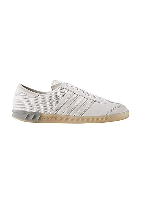 meet 058d9 f5442 adidas Hamburg Tech White White Silver  Amazon.es  Zapatos y complementos
