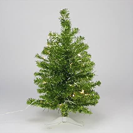 northlight pre lit pardise lime green tinsel pine artificial christmas tree with clear lights - Lime Green Christmas Tree