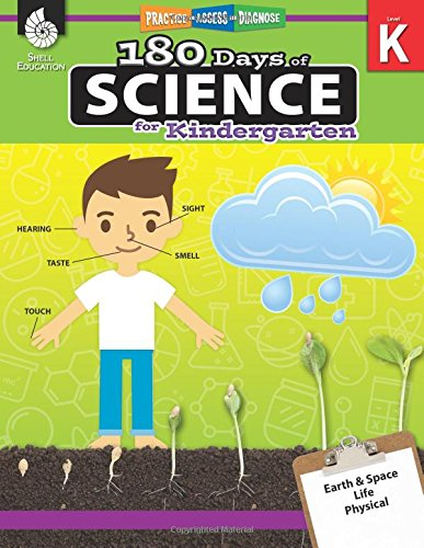 180 Days of Science for Kindergarten (180 Days of Practice)