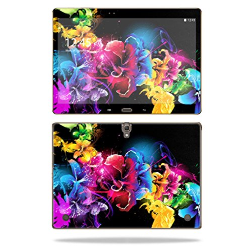 """Mightyskins Protective Vinyl Skin Decal Cover for Samsung Galaxy Tab S 10.5"""" T800 wrap sticker skins Bright Life"""