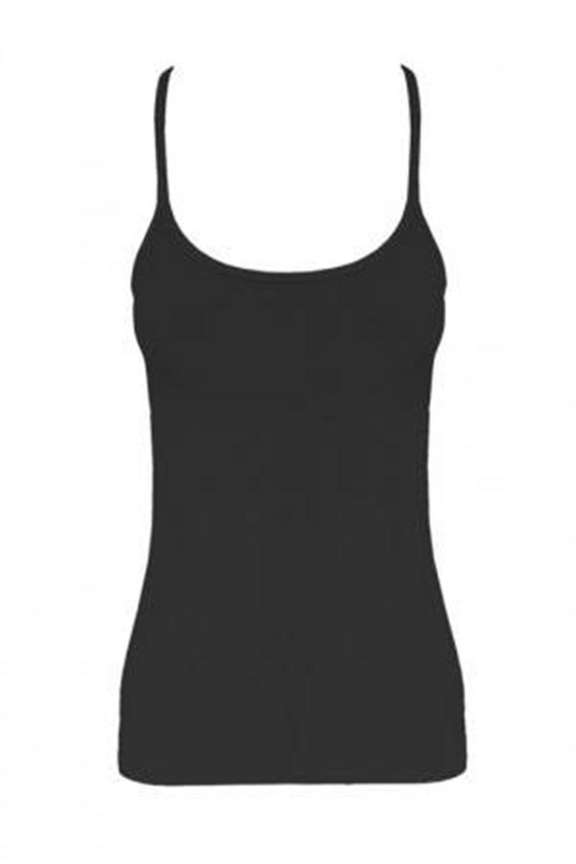 Bobo Banita Girls NEON Vest Tops by Crazy Chick (Black, Age 5/6)