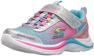 skechers shoes light up white. skechers kids girls game kicks light-up sneaker (little kid/big kid) shoes light up white g