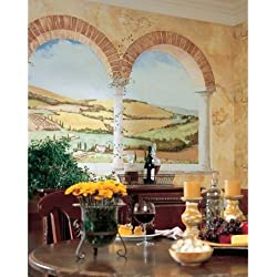 Tuscan View Removable Mural Wallpaper