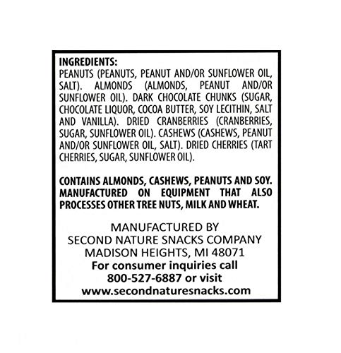 Second Nature Wholesome Medley Nuts Snack Mix 1.5 Oz 16 Counts by SecondNature (Image #3)