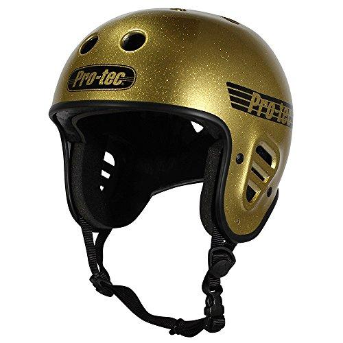 pro-tec-full-cut-certified-skate-helmet-gold-flake-medium