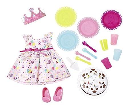 Babypuppen & Zubehör bunt Zapf Creation 824481 Baby Born Sommerkleid Set mit Pins