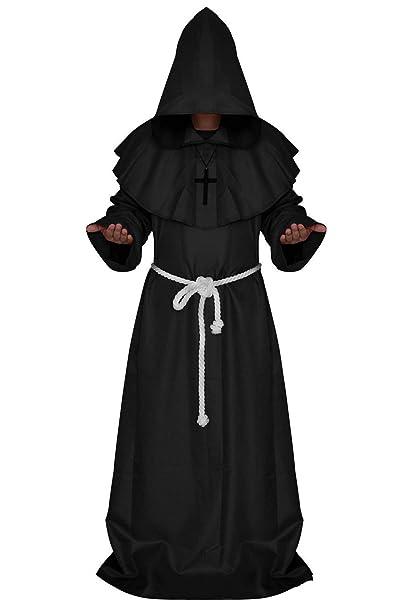 Amazon.com: Disfraz de Halloween para hombre, con capucha ...