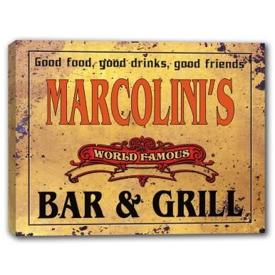 marcolinis-world-famous-bar-grill-stretched-canvas-print