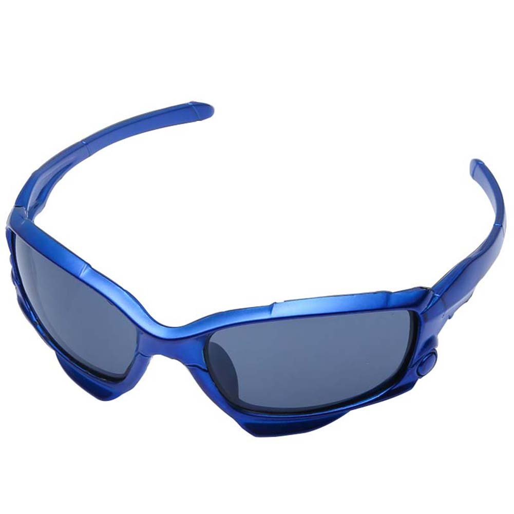 windgoal偏光サイクリングメガネメンズの、スポーツサングラス運転実行ゴルフアウトドアサングラスUV保護太陽グラス  ブルー B07CR2ZS8M