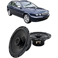 Fits Jaguar X-type 2001-2008 Front Door Factory Replacement Harmony HA-R65 Speakers New