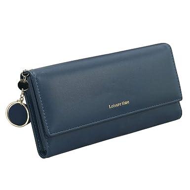 Reputedc Bolsos de mujer Larga personalidad japonesa y coreana colgante pequeña cartera multifuncional fresca fresca (