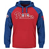 "Philadelphia Phillies Majestic MLB ""Cunning Play"" Men's Hooded Sweatshirt - Red"