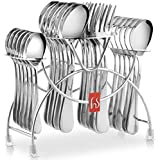 V-BEST Stainless Steel Cutlery Stand Spoon and Fork Rack Holder (Only Stand 1Pc)