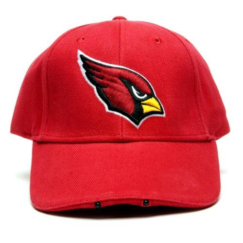 (NFL Arizona Cardinals Dual LED Headlight Adjustable)