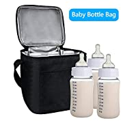 TedGem Breast Milk Baby Bottle Cooler Bag - Bottle Tote Bags For Insulated Breastmilk Storage w/Air Tight Lock in the Cold & Preserve Important Nutrients