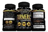 Organic Turmeric Curcumin with Black Pepper – Turmeric Vegetable Capsules (curcuma longa) Best Joint Pain Relief, Anti-Inflammatory, Antioxidant & Anti-Aging Supplement with 700mg of Turmeric