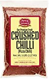 Spicy World Crushed Pepper Chilli Flakes, Red, 5 Pound