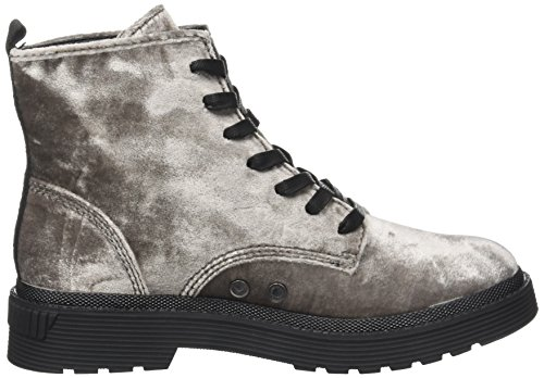 discount 2014 Calvin Klein Women's Annie Velvet Combat Boots Silver (Silver) cheap wholesale clearance 100% authentic fake for sale TO42Pp6