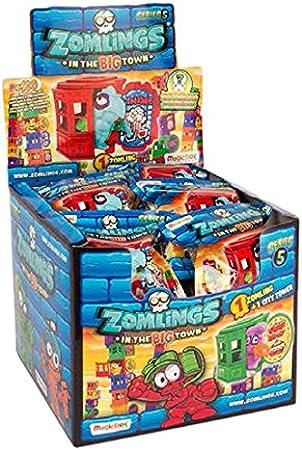 ZOMLINGS 14916 Series 5 - Caja de Paquete, Serie de Torres de la Gran Ciudad (Paquete de 24): Amazon.es: Juguetes y juegos