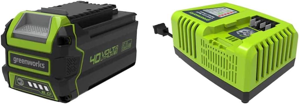 Pack Greenworks 40v 1 Akku 6 0ah Lithium Ionen 1 Elektronik