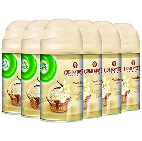 Air Wick Freshmatic Automatic Spray Air Freshener, Vanilla Bean Scent, 1 Refill, 6.17 oz (Pack of 6) ()