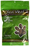 river meat - Real Meat Large Bits Beef Jerky Dog Treats 12 oz