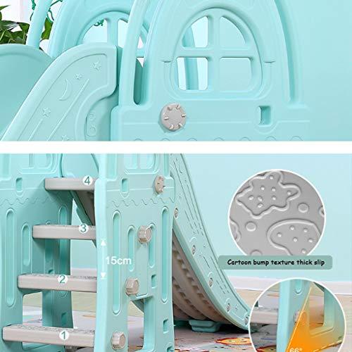 Freestanding Slides Slide Children's Indoor Slide Combination Baby Baby Slide Outdoor Children's Toys Kindergarten Long Small Toys Playground Children's Gifts (Color : Blue, Size : 185x98cm) by Freestanding Slides (Image #3)