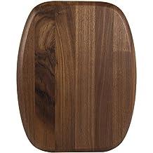 Luxe Grip Wood Cutting Board in Walnut Size: 11.5x14.5 by Architec