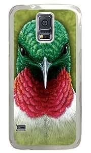 Hummingbird Custom Samsung Galaxy S5/Samsung S5 Case Cover Polycarbonate Transparent
