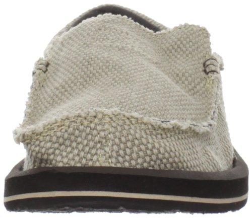 Sanuk Chiba 29418019 - Mocasines de tela para hombre Beige