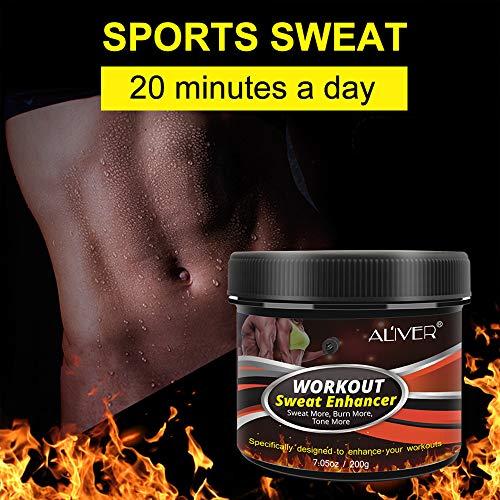 Sweat Cream Weight Loss Fat Burner for Women,Fitness Cream,Sweat Cream for Weight Loss, Fat Loss, Muscle Gain, Etc. 3