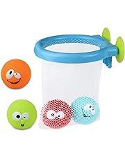 Juguetes Baño Bañera Juegos de Agua Orgsnizador Baño Mini Canasta 5 PCS per Niños 12 Meses+